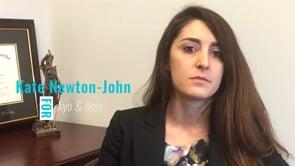 Kate Newton-John on Alimony