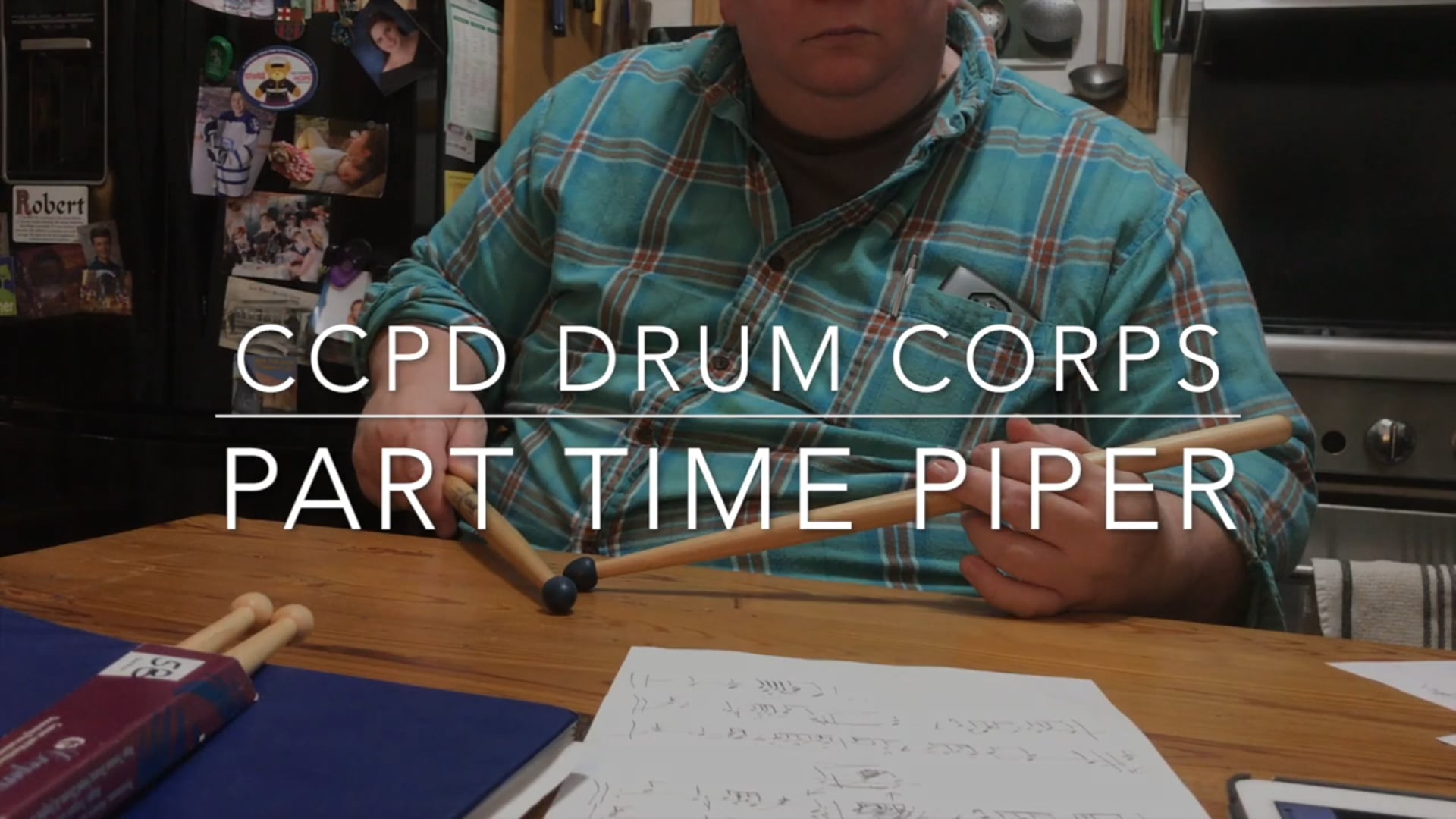 Part Time Piper (Drum Parts)
