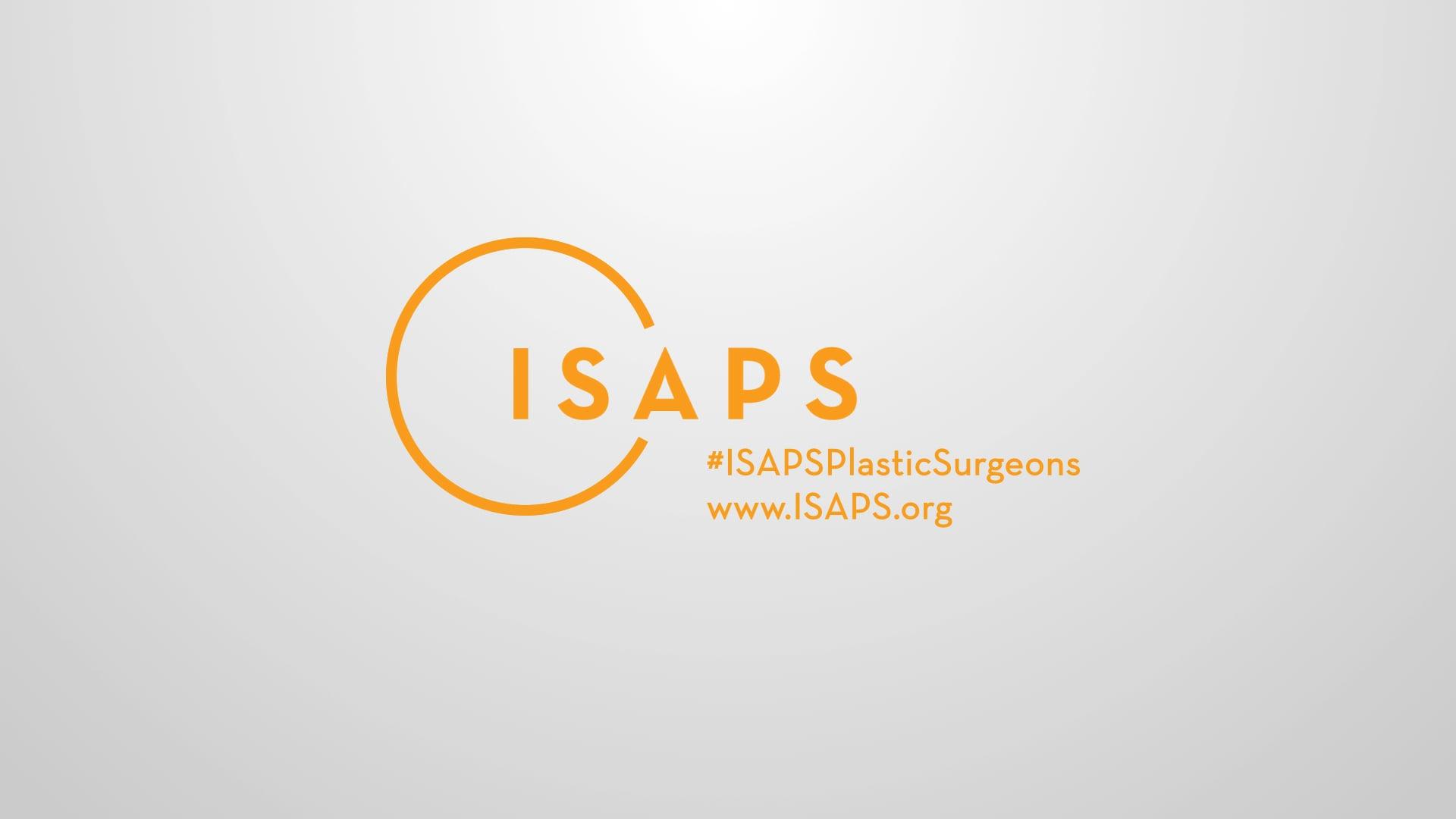 ISAPS Logo Outro White