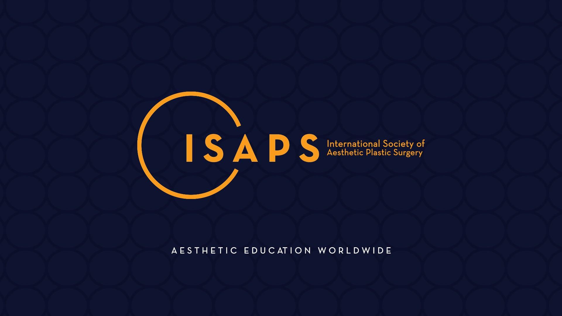 ISAPS Logo Intro Blue