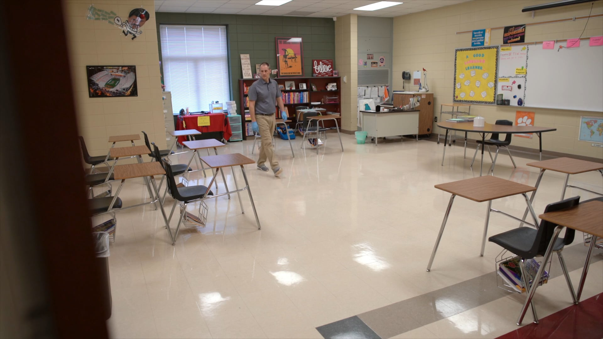 Classroom Cleaning | Diversey
