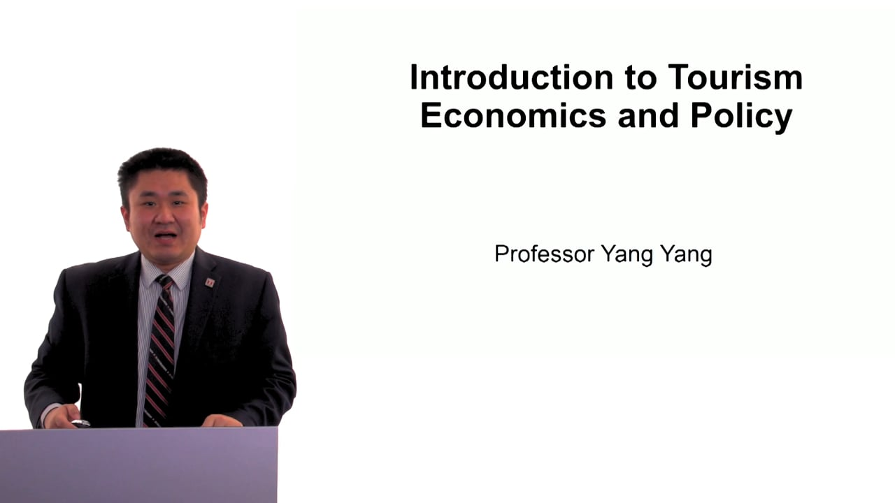 60497Introduction to Tourism Economics and Policy
