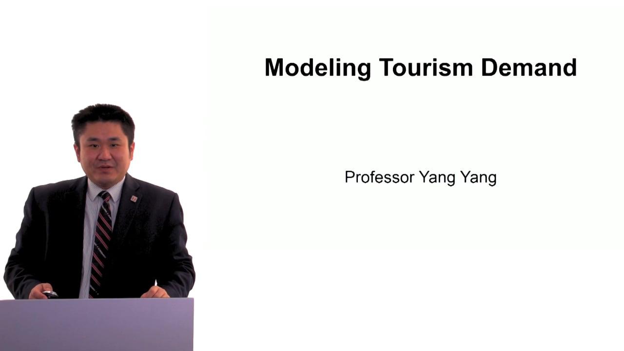 60489Modeling Tourism Demand