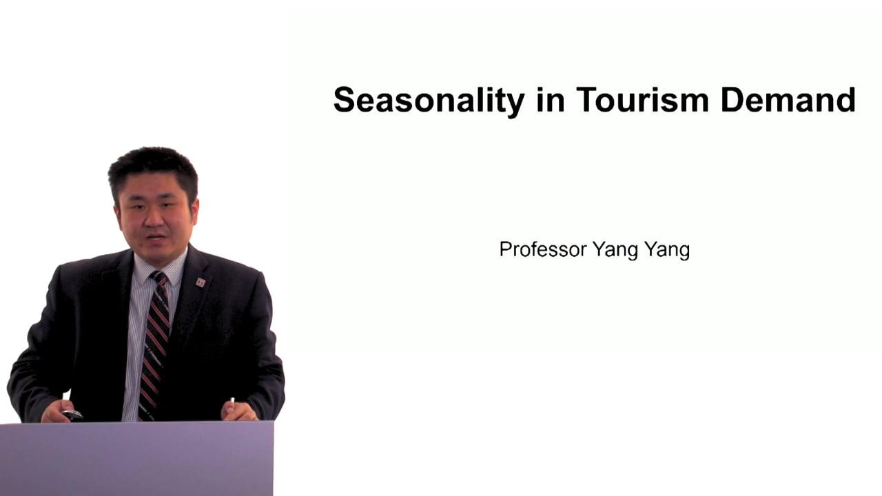 60490Seasonality in Tourism Demand