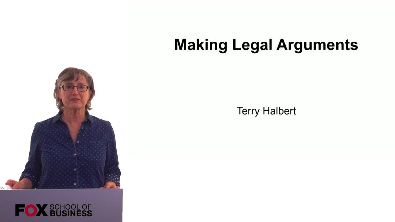 60309Making Legal Arguments