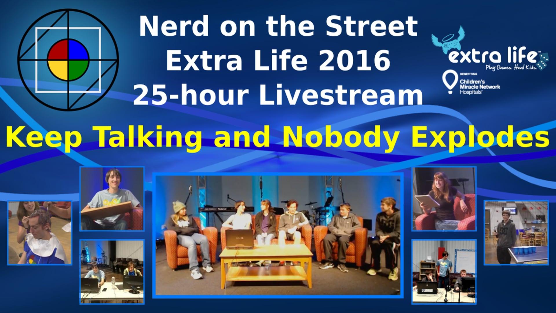 Keep Talking and Nobody Explodes - Extra Life 2016