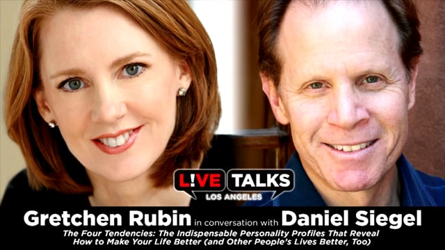 Gretchen Rubin in conversation with Daniel Siegel