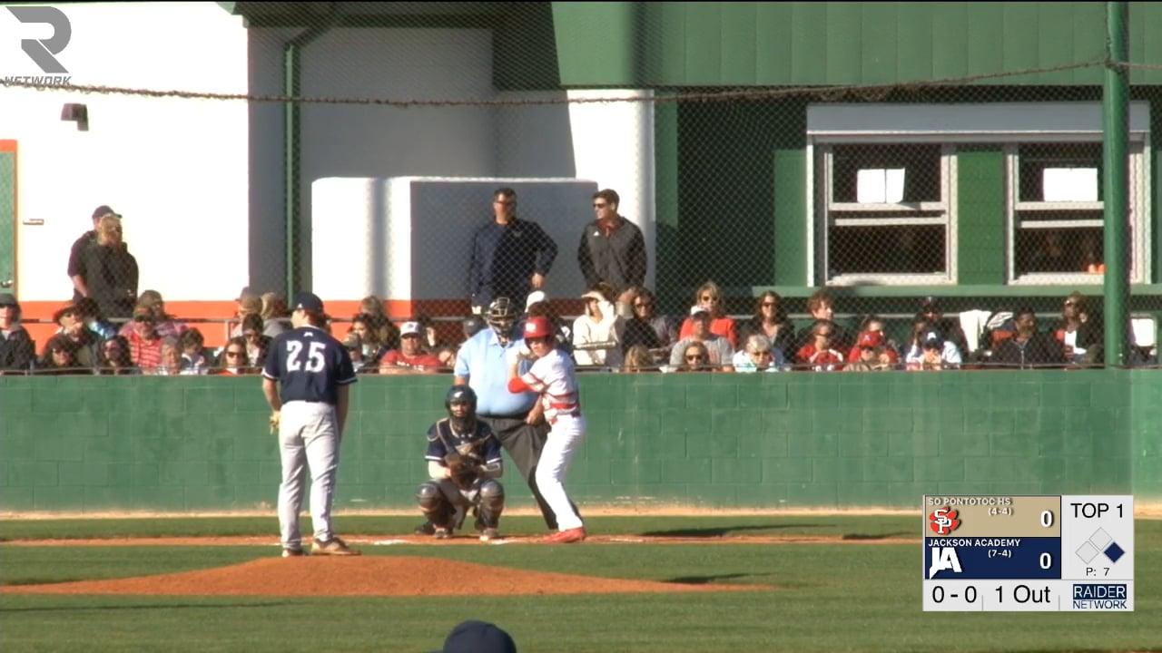 Varsity Baseball-2018-Mar 12-South Pontotoc