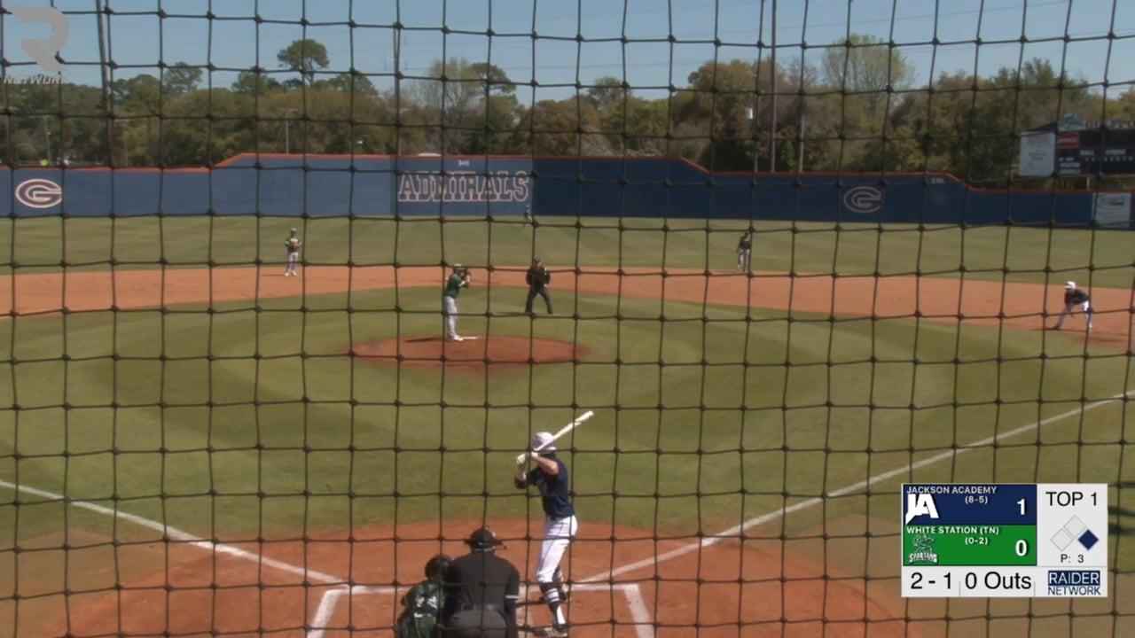 Varsity Baseball-2018-Mar 14-White Station (TN)