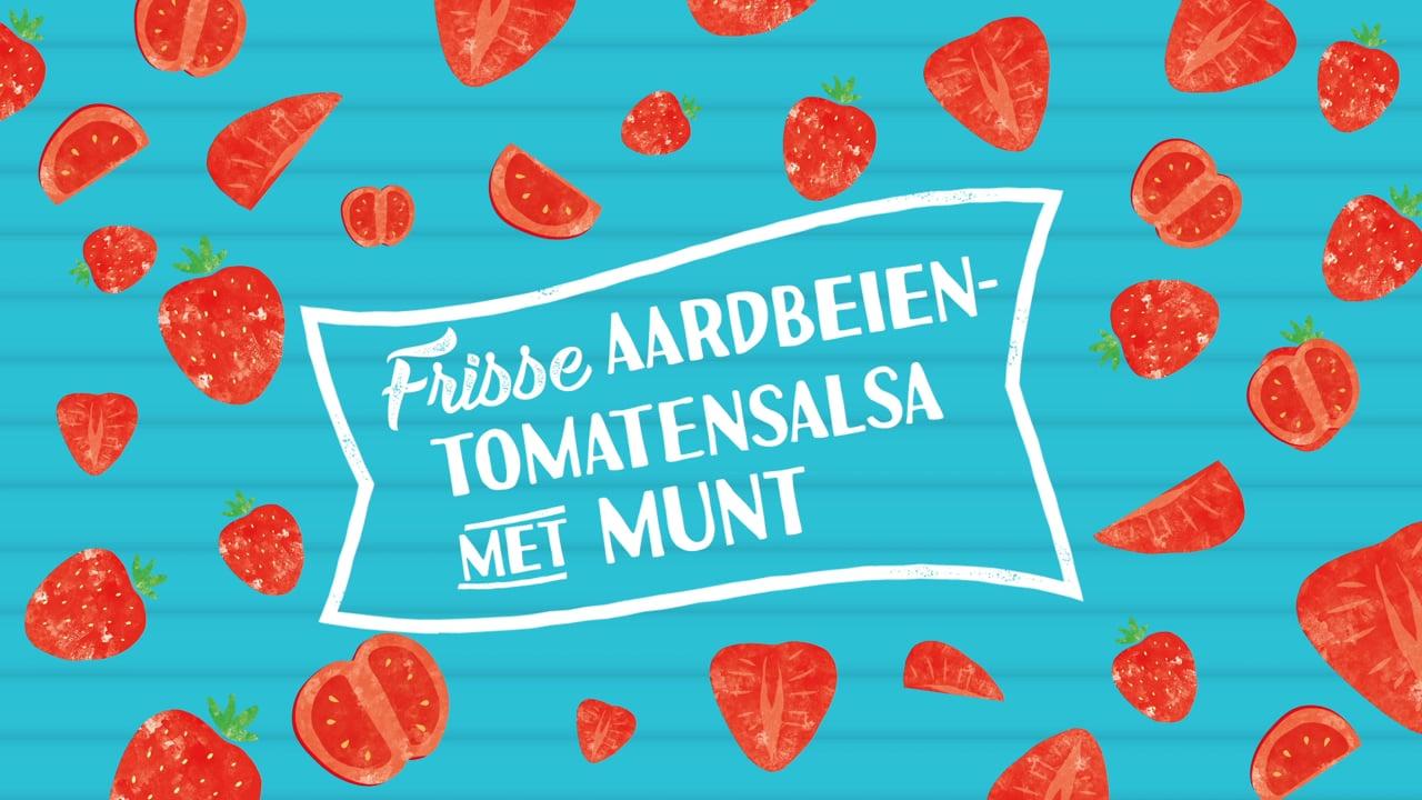 JUMBO Zomerthema Frisse Aardbeien Tomaten Salsa