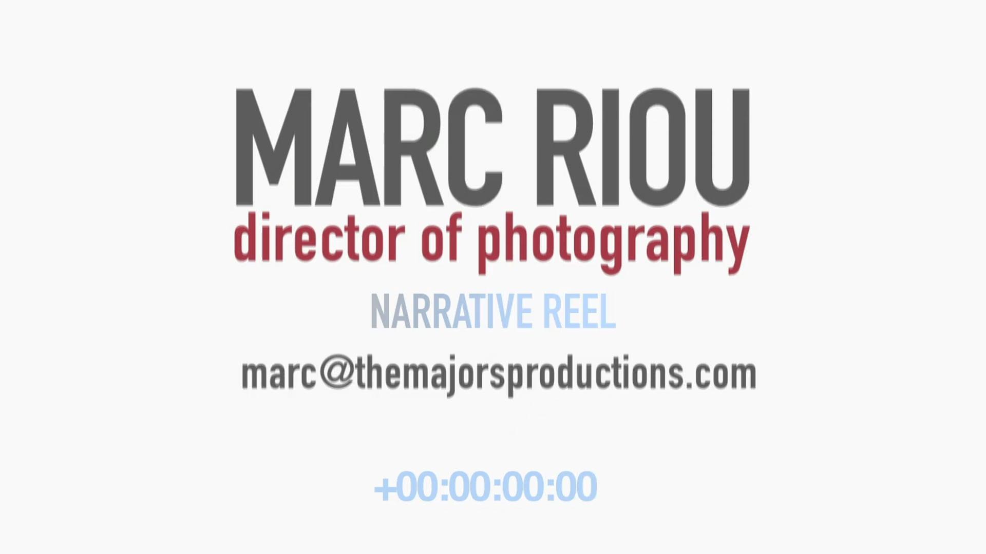 Narrative Cinematography Reel