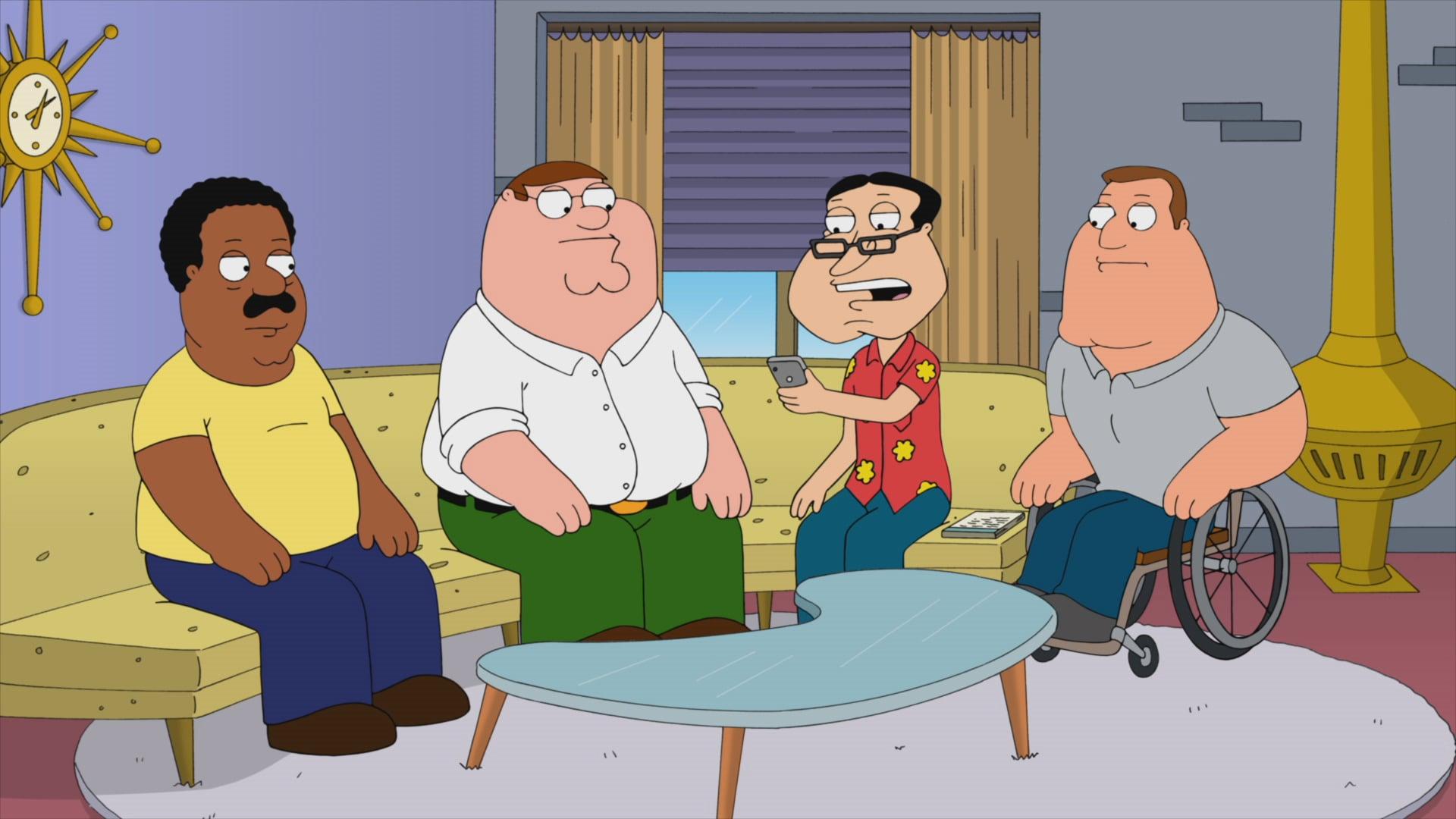 Family Guy 'Censored'
