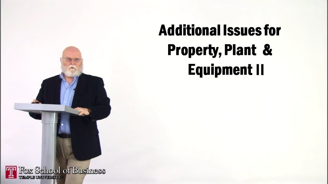 56881Accounting for the Acquisition of Property, Plant, & Equipment II