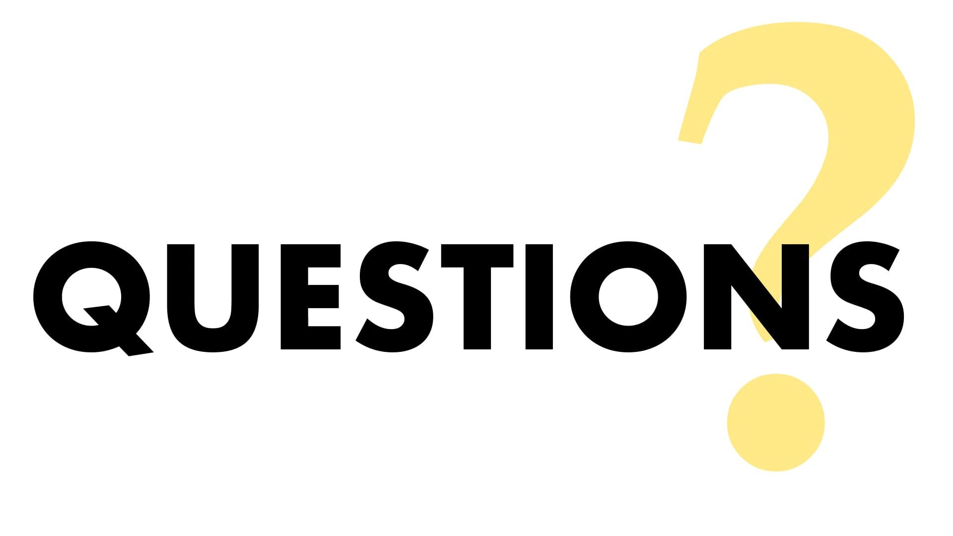 Kinetic Type: Big Life Questions