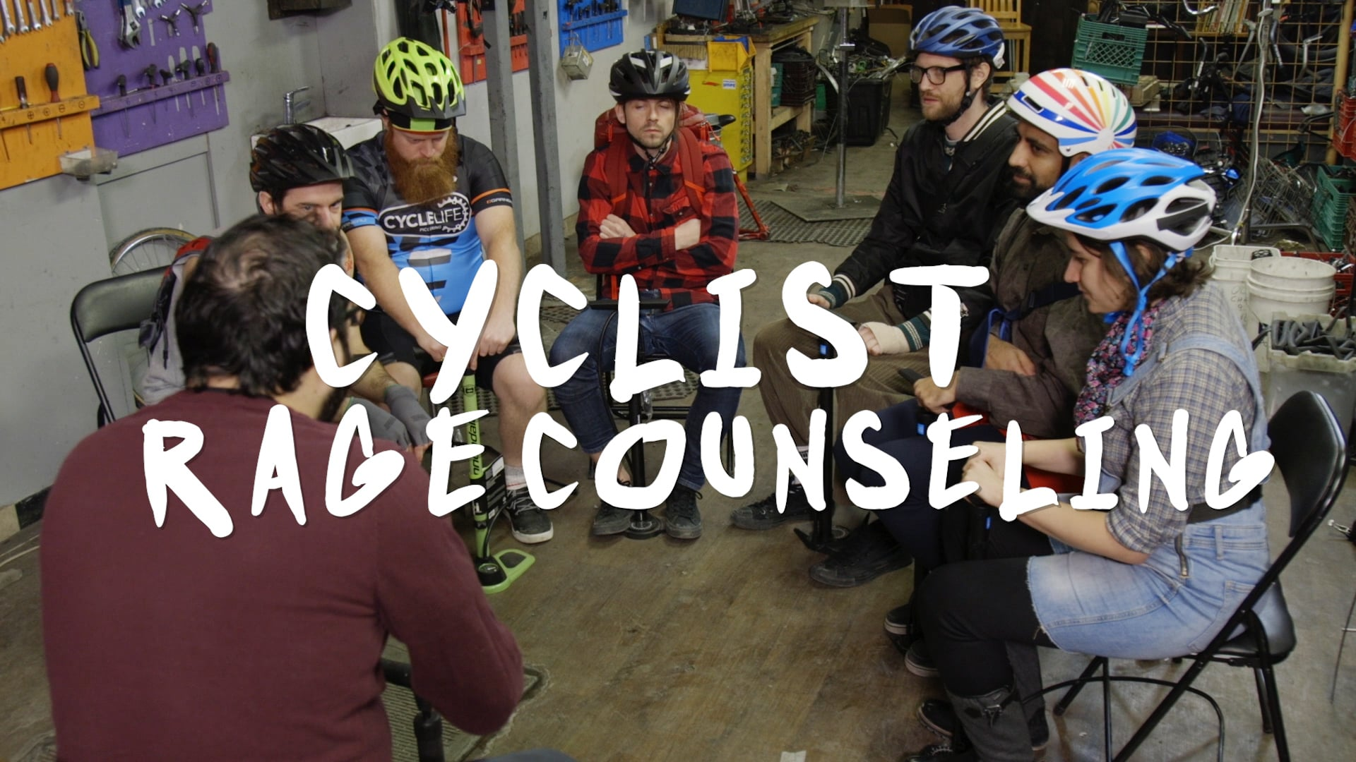 TORONTOPIA - CYCLIST RAGE COUNSELING