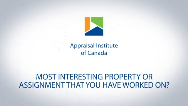 Most interesting property or assignment you have worked on