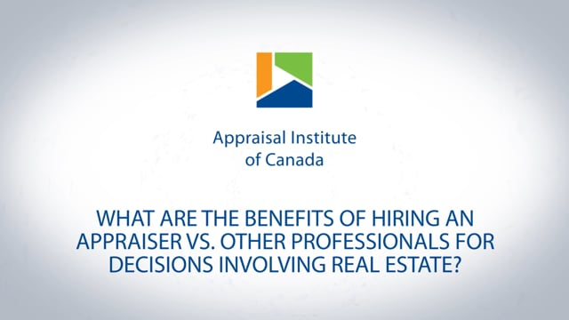 What are the benefits of hiring an appraiser vs. other professionals for decisions involving real estate