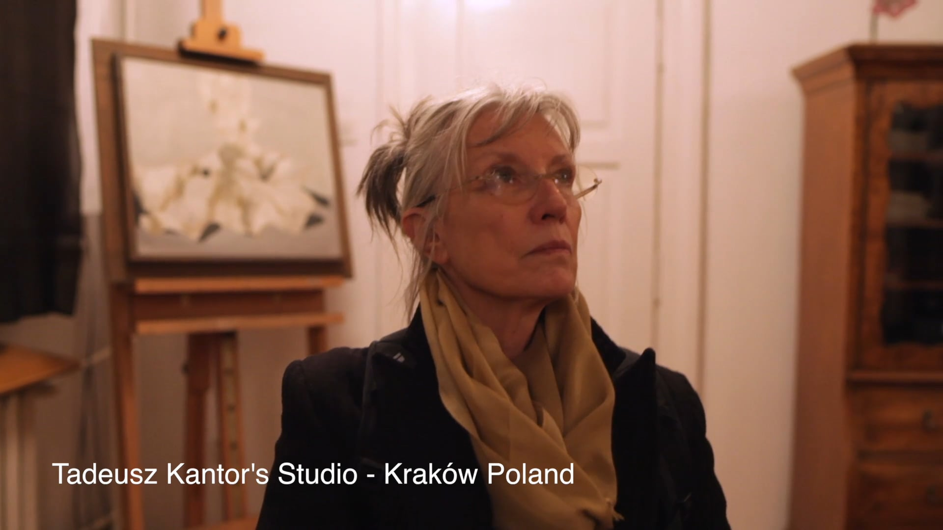 A PINK CHAIR — Liz LeCompte in Tadeusz Kantor's studio in Krakow (2013) [03.23.18]