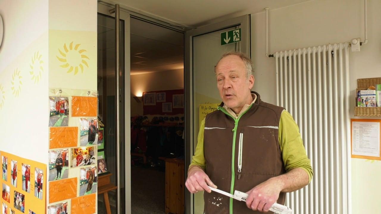 Holger Vockert zur Gartenbank
