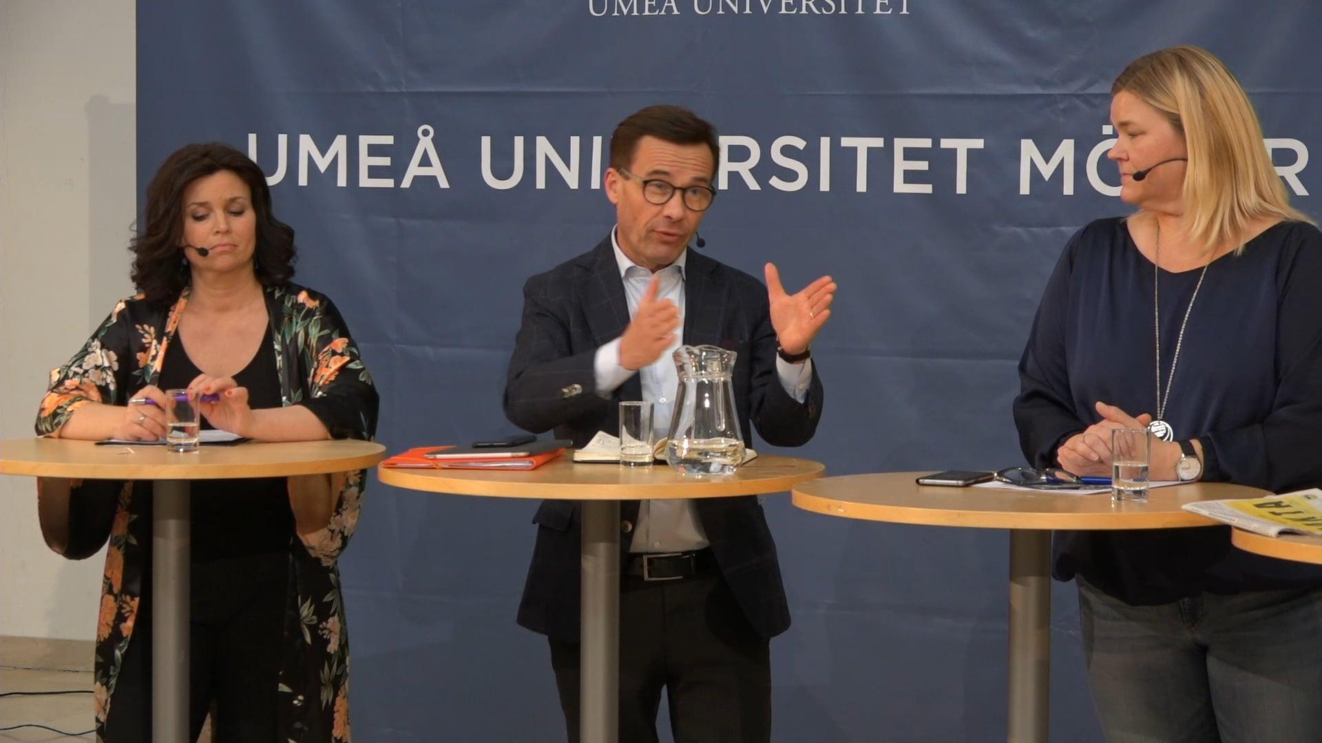 Film: Kort intervju med moderaternas partiledare Ulf Kristersson
