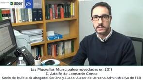 Video píldora express de competitividad - Las Plusvalías Municipales: novedades en 2018