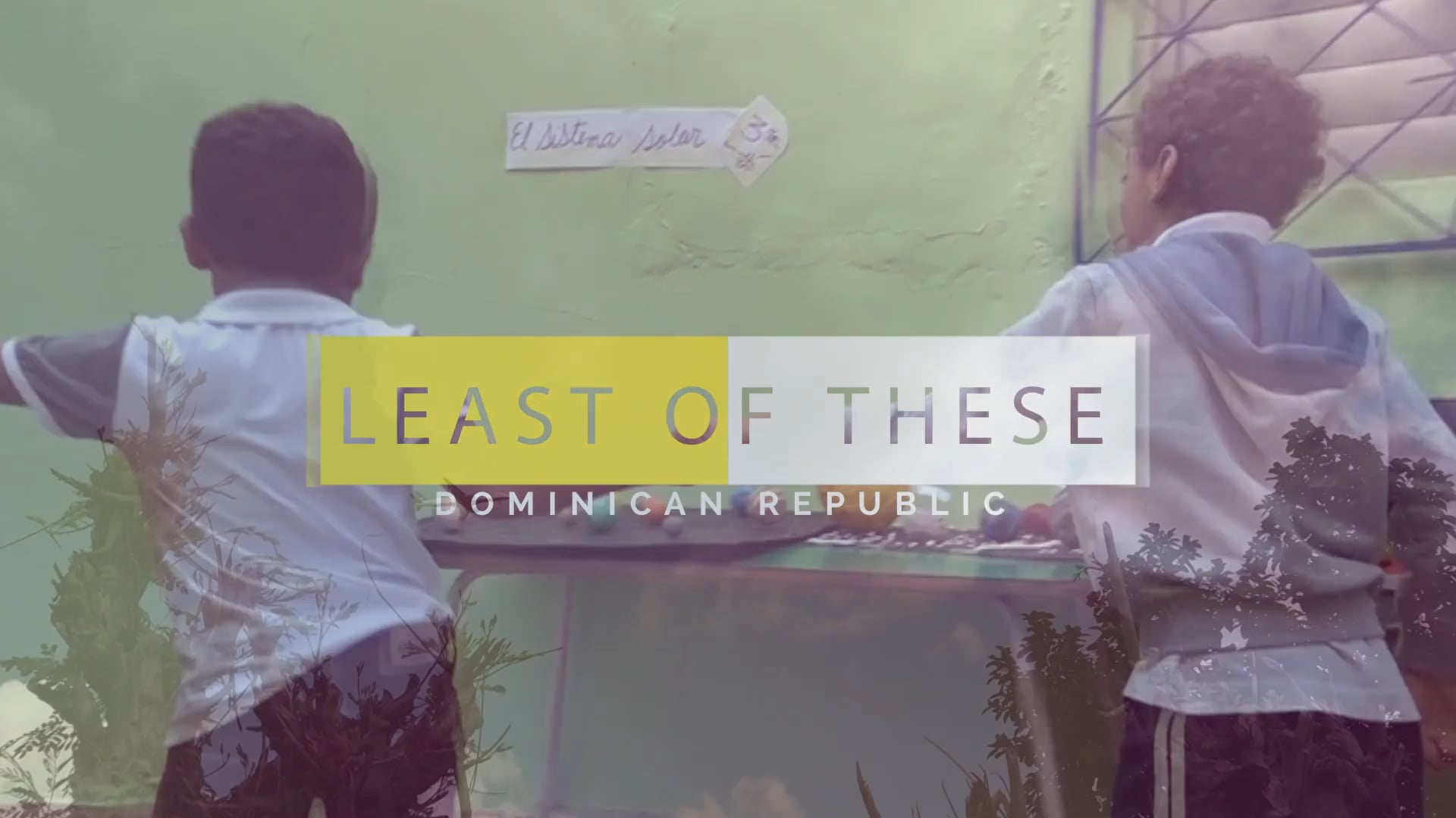 The Least of These - Opportunity International Canada
