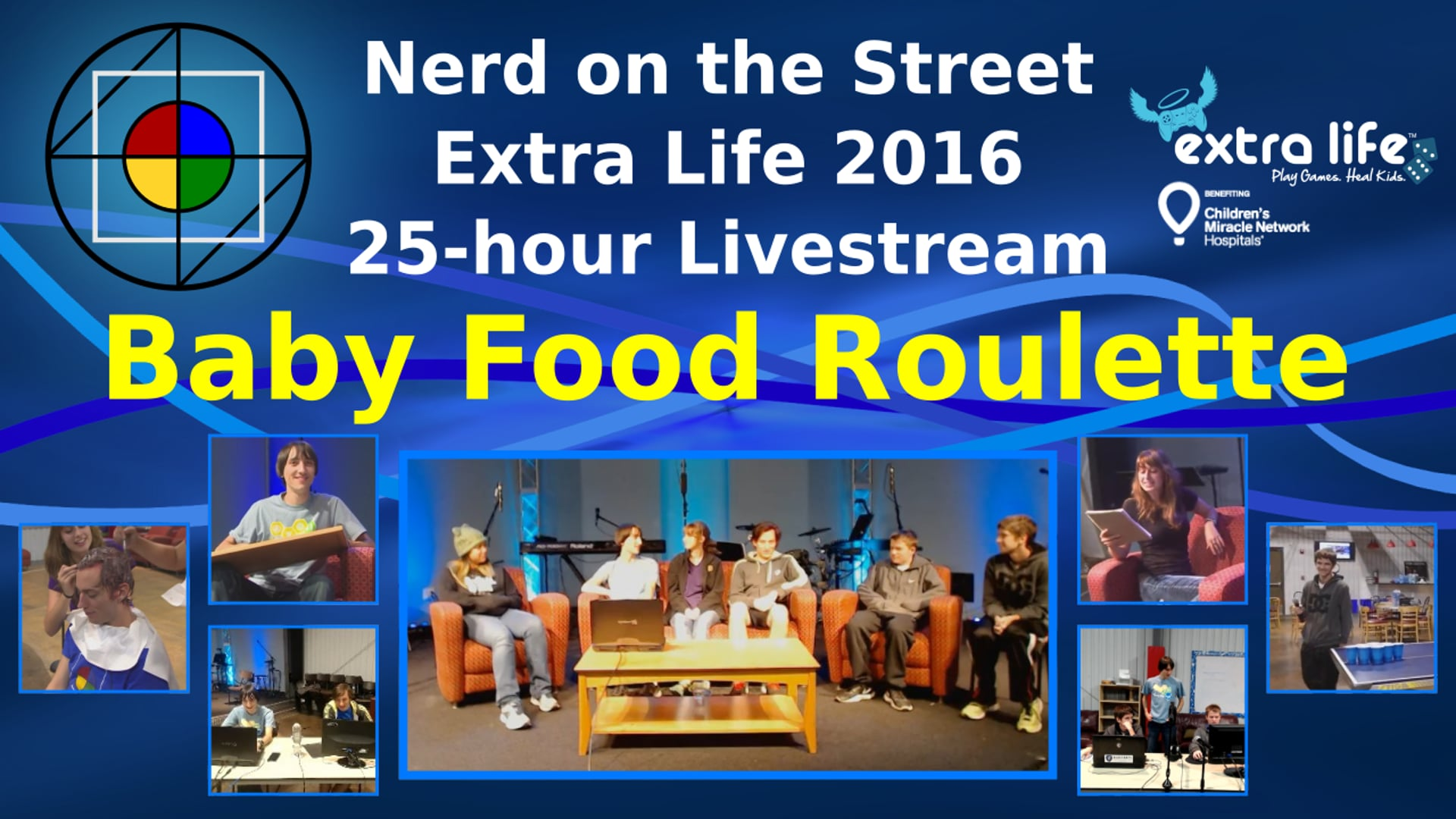 Baby Food Roulette - Extra Life 2016