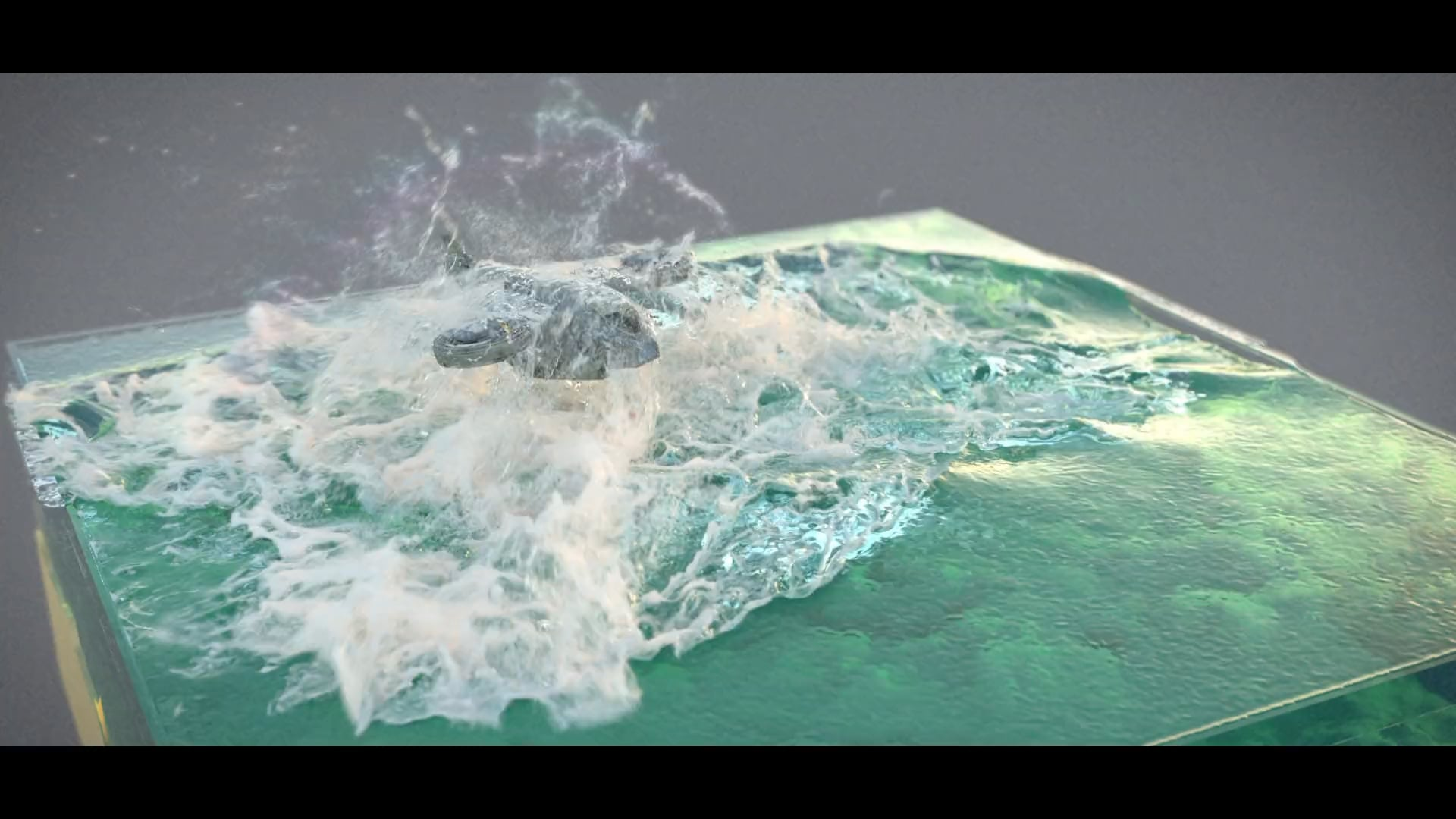 Emerging Drone with 3ds Max fluid solver