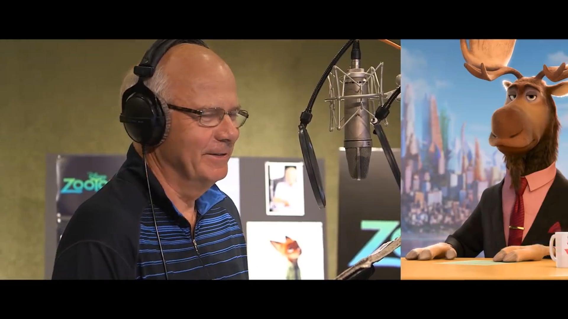 Peter Mansbridge-Walt Disney interview