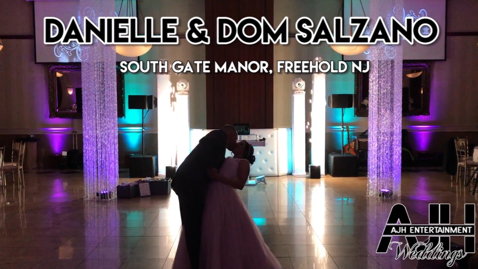 AJH Entertainment: Danielle & Dom's Wedding; South Gate Manor, Freehold, NJ