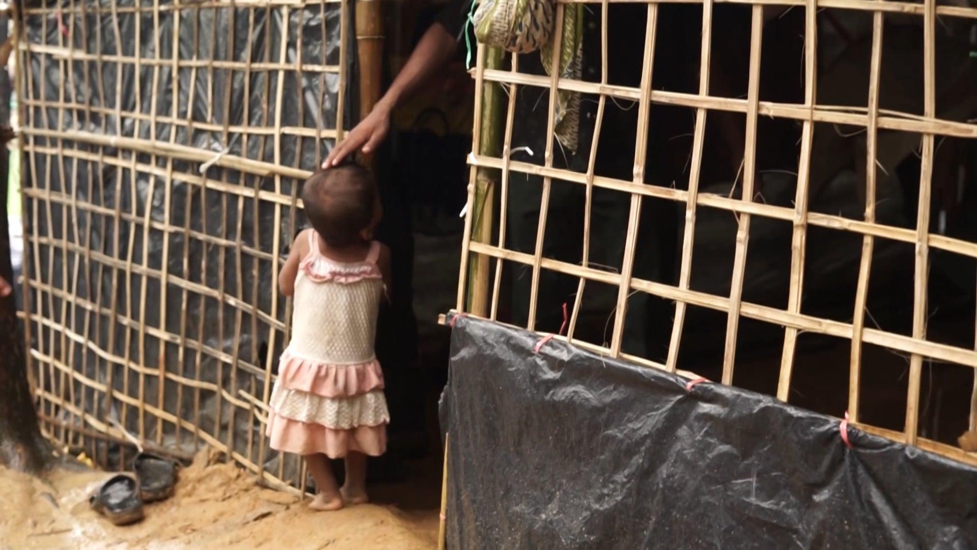 Voyage à l'intérieur du camps Balukhali à Cox's Bazar avec les Rohingyas.