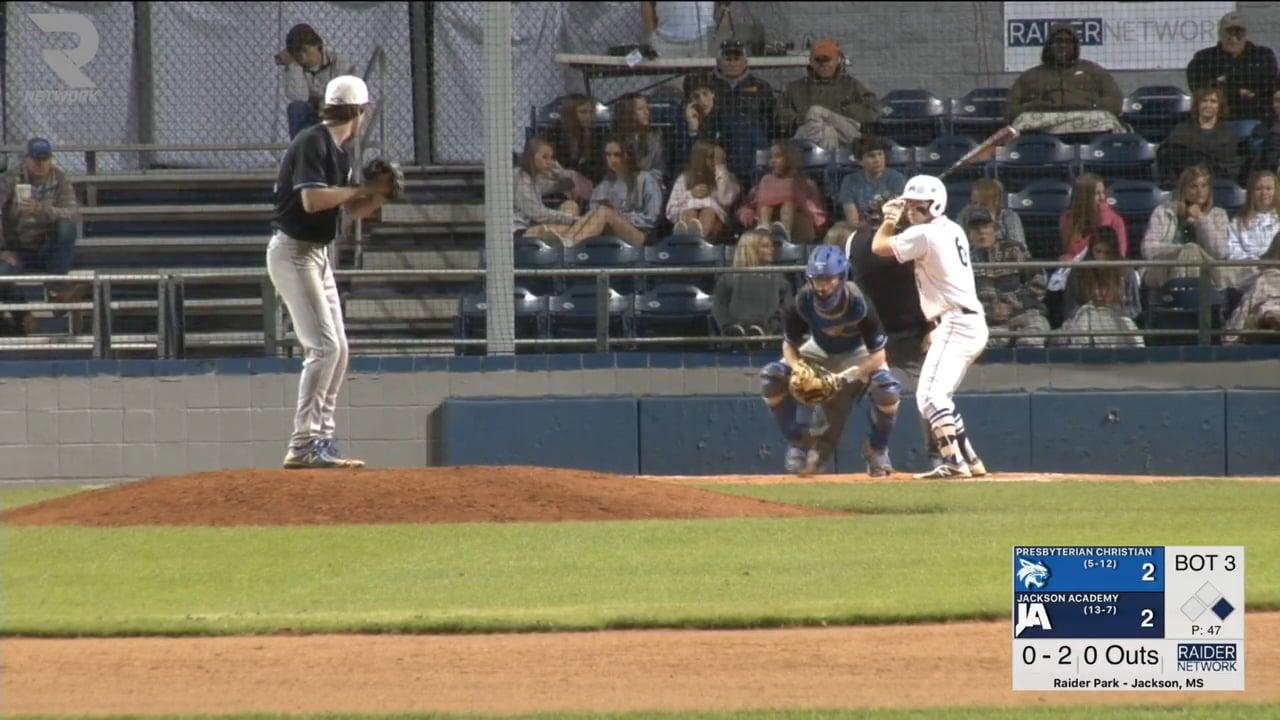 Varsity Baseball-2018-Mar-30-Pres. Christian (DH GM 2)