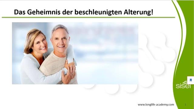 Das Geheimnis der beschleunigten Alterung!