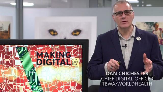 Presentation by Dan Chichester of TBWA/WorldHealth