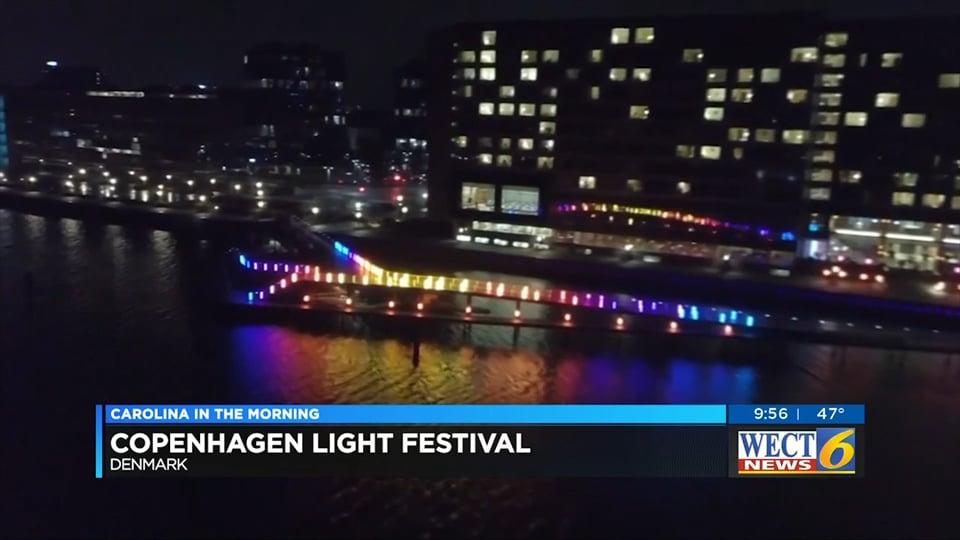 Copenhagen Light Festival Examples