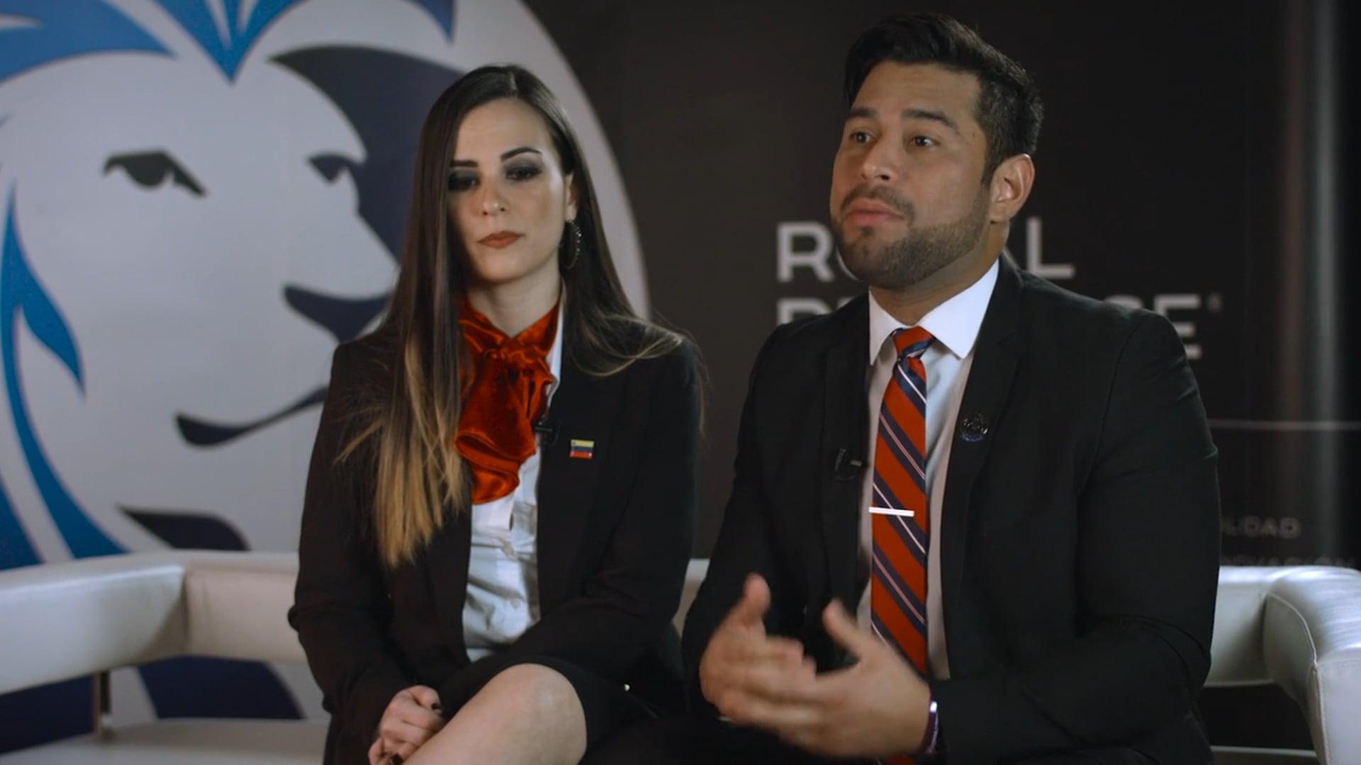 Roberto De Las Salas y Nadia Urdaneta son La Cara del Éxito_v2018