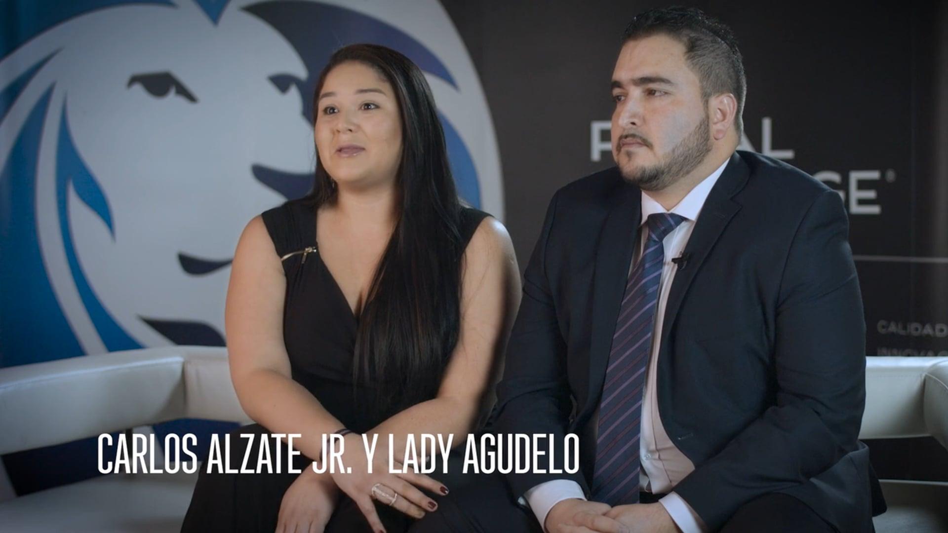 Carlos Alzate Jr. y Lady Agudelo son La Cara del Éxito_v2018