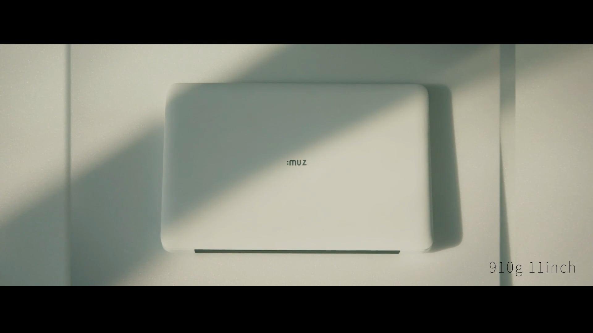 아이뮤즈 (Antique X Minimalism) 노트북 홍보 영상 Notebook Promotional video