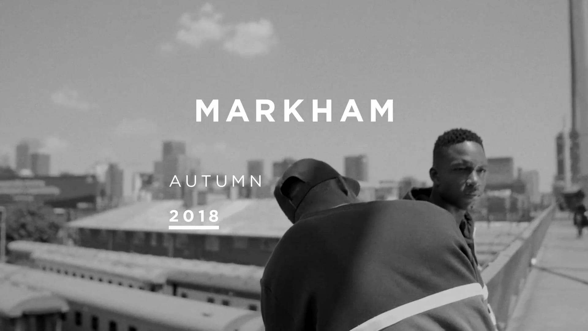 Markham Autumn 2018 Product Range