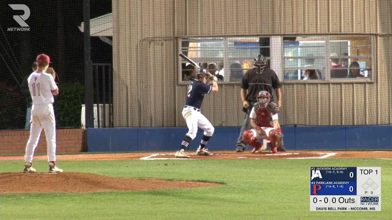 Varsity Baseball-2018-Apr-05-Parklane Acad. (DH Game 2)