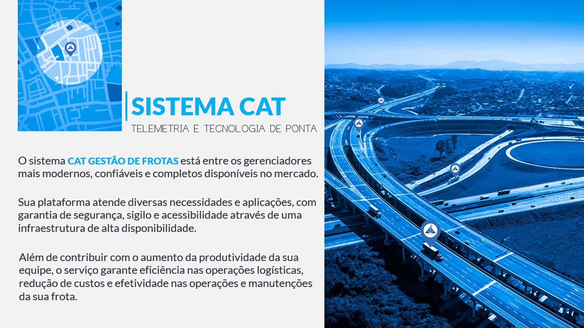 CAT Gestao de Frotas | Apresentação Corporativa