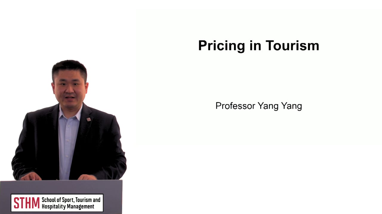 60495Pricing in Tourism