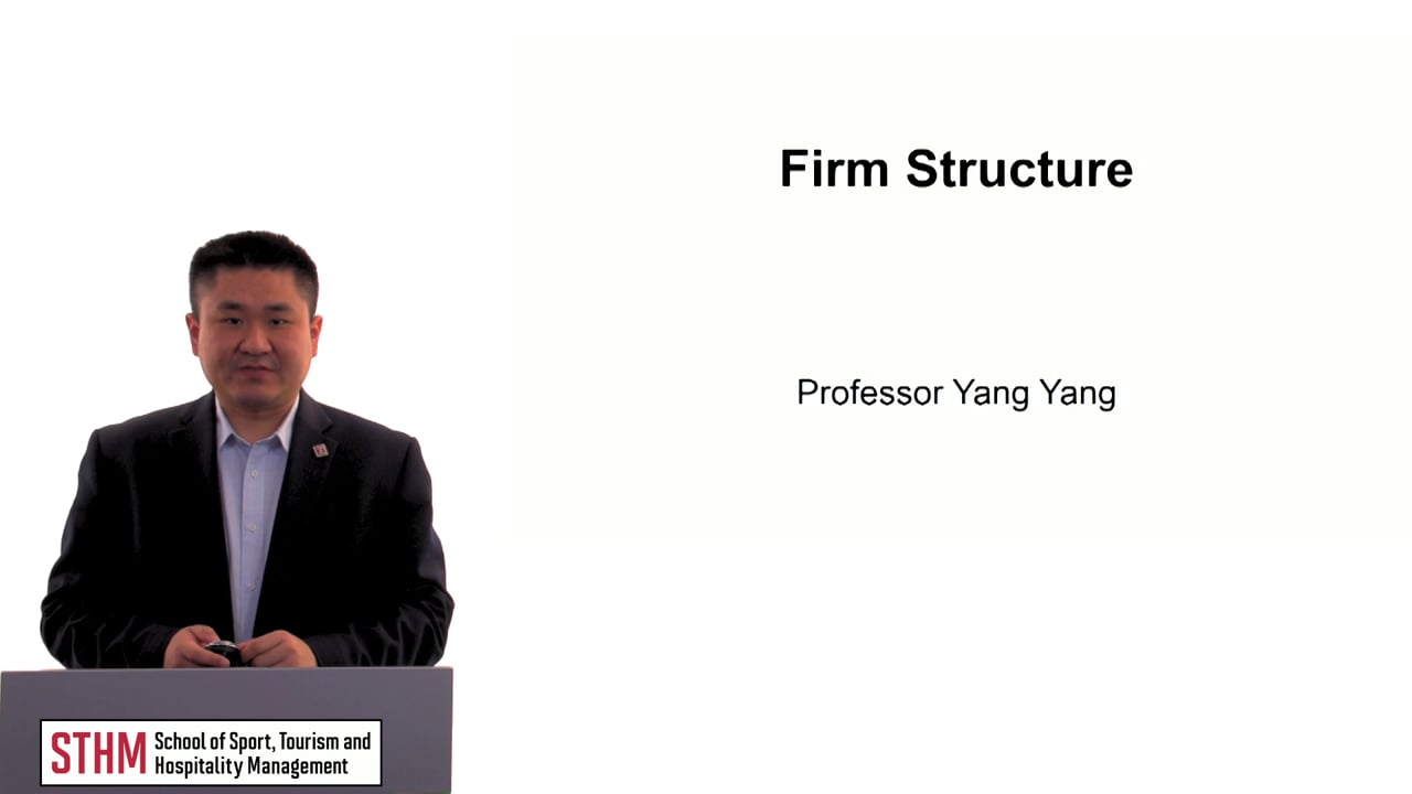 60493Firm Structure