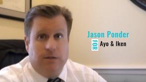 Jason Ponder - behavior in court