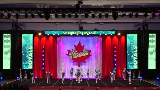 CheerStrike Royals Imperial Youth Sm A 1  - Canadian Finals