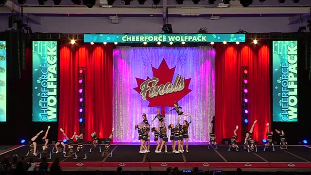 CheerForce WolfPack Prestige Yth Med 2 - Canadian Finals
