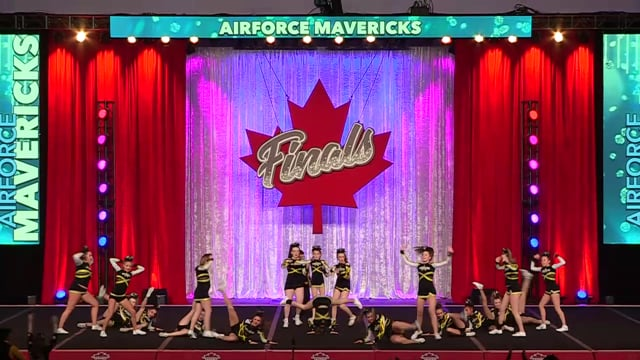 Air Force Mavericks Captains Junior Sm A 2 - Canadian Finals