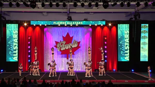 Flames All Stars Outblast Senior Sm 3 - Canadian Finals