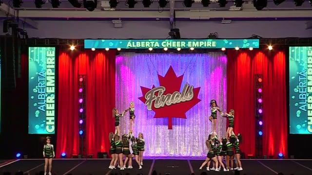 Alberta Cheer Empire Invictus Junior Sm 4 - Canadian Finals
