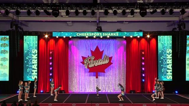 Cheer Sport Whitetip Sharks Sr X-Sm 4.2 - Canadian Finals